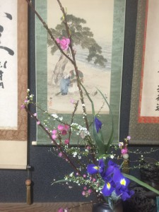 小原流生け花の研究会<桃の花>〜この季節にしか出会わないもの