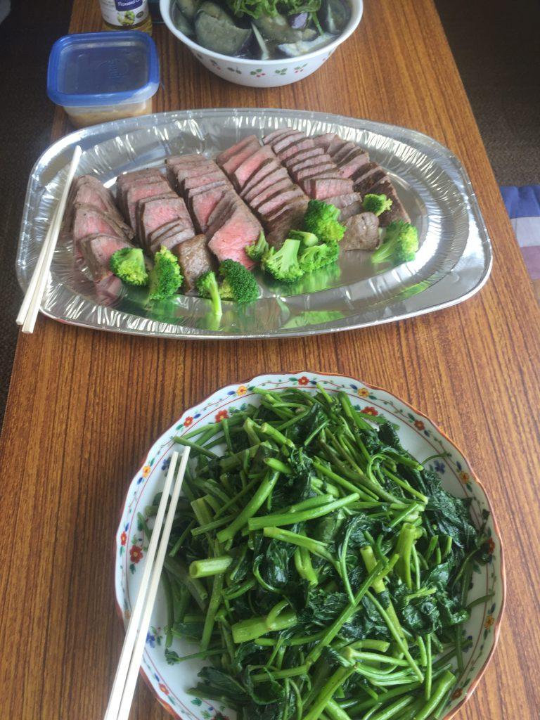 旬のものを味わう〜空芯菜は夏の青菜に最適!