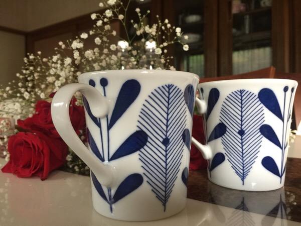 毎日使うマグカップ、好きという判断基準以外のポイント3つ『大きさ・軽さ・洗いやすさ』です。