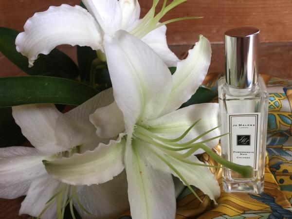 香水『ジョーマローン』ポメグラネートは私のためのざくろの香り〜子供の成長とともに大人の香りを楽しむ