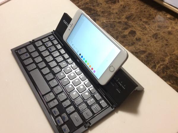 フリック入力が苦手なブロガーにオススメ、簡易携帯用キーボード〜これで、いつでもお気軽に投稿できる?!
