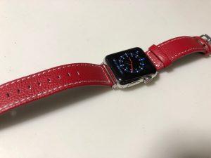 Applewatch3 クリスマス仕様で自分なりのおしゃれを楽しむ〜ベルトの脱着が簡単!