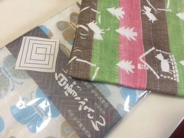 奈良の蚊帳生地ふきん 〜毎日使う物にもちょっとした遊び心があると楽しい