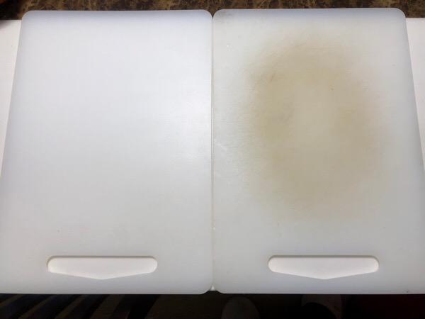 キッチンのまな板は、軽くて清潔感がある物が好きです!